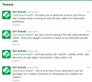 The Girl Scouts Social Media Fail
