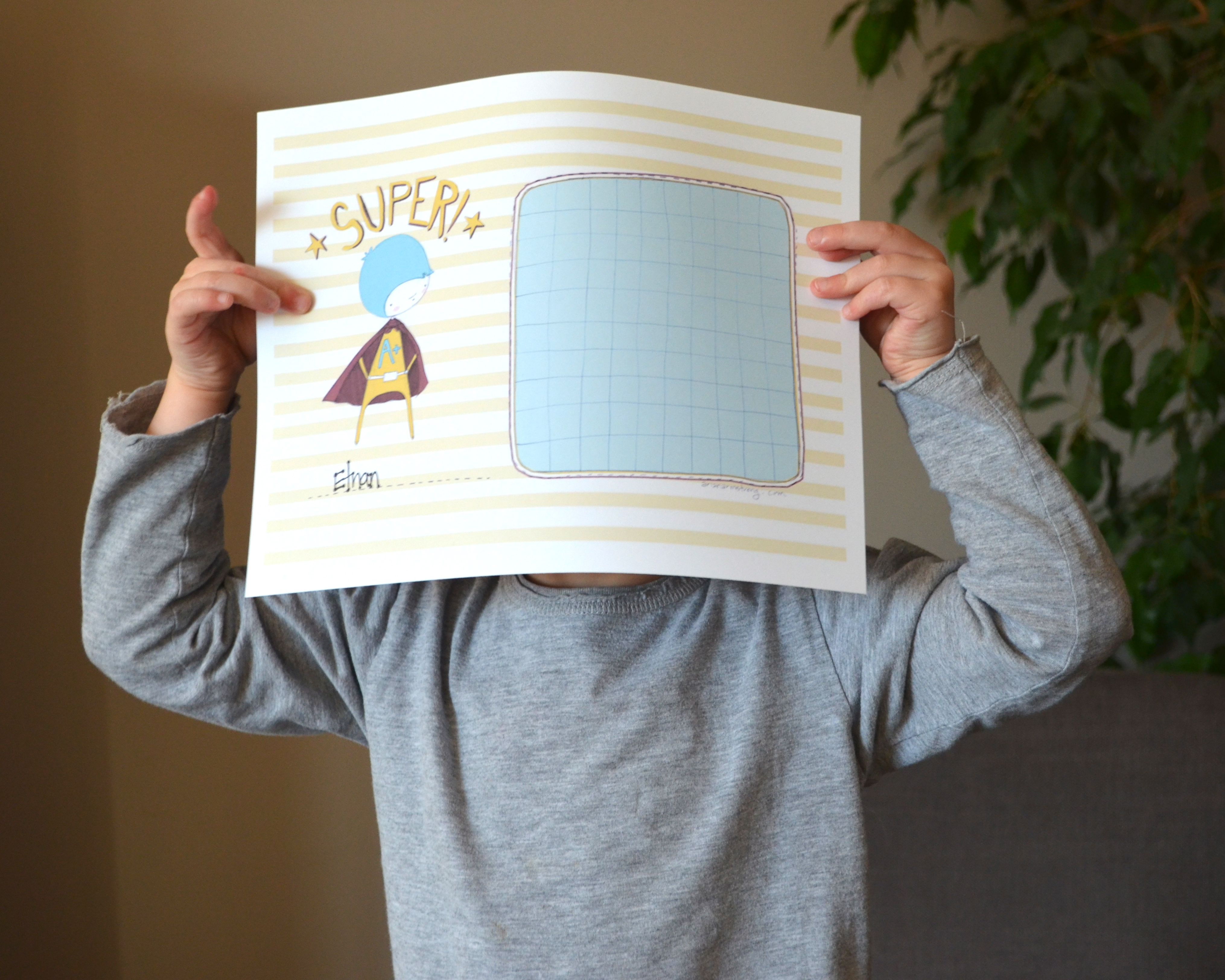 positive parenting: getting little ones to listen + a free printable superboy/supergirl rewards chart!