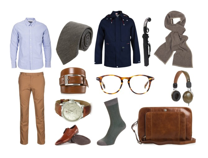 Menswear Monday Mood Board: Spring Time Business