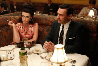 mad men don and megan