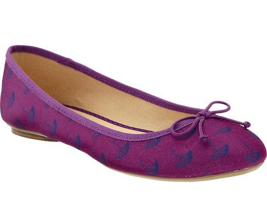 Old Navy Umbrella Print Ballet Flats