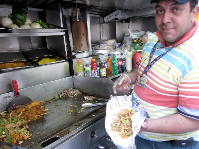 street food vendor of NY by The Culinary Chase