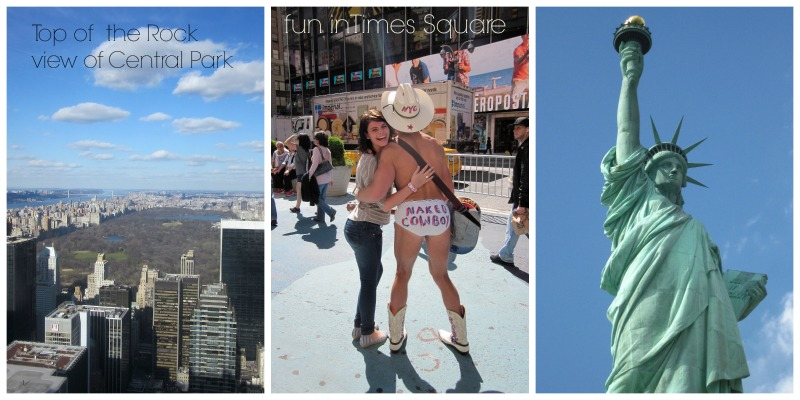NYC Collage by The Culinary Chase
