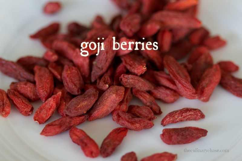 goji berries by The Culinary Chase