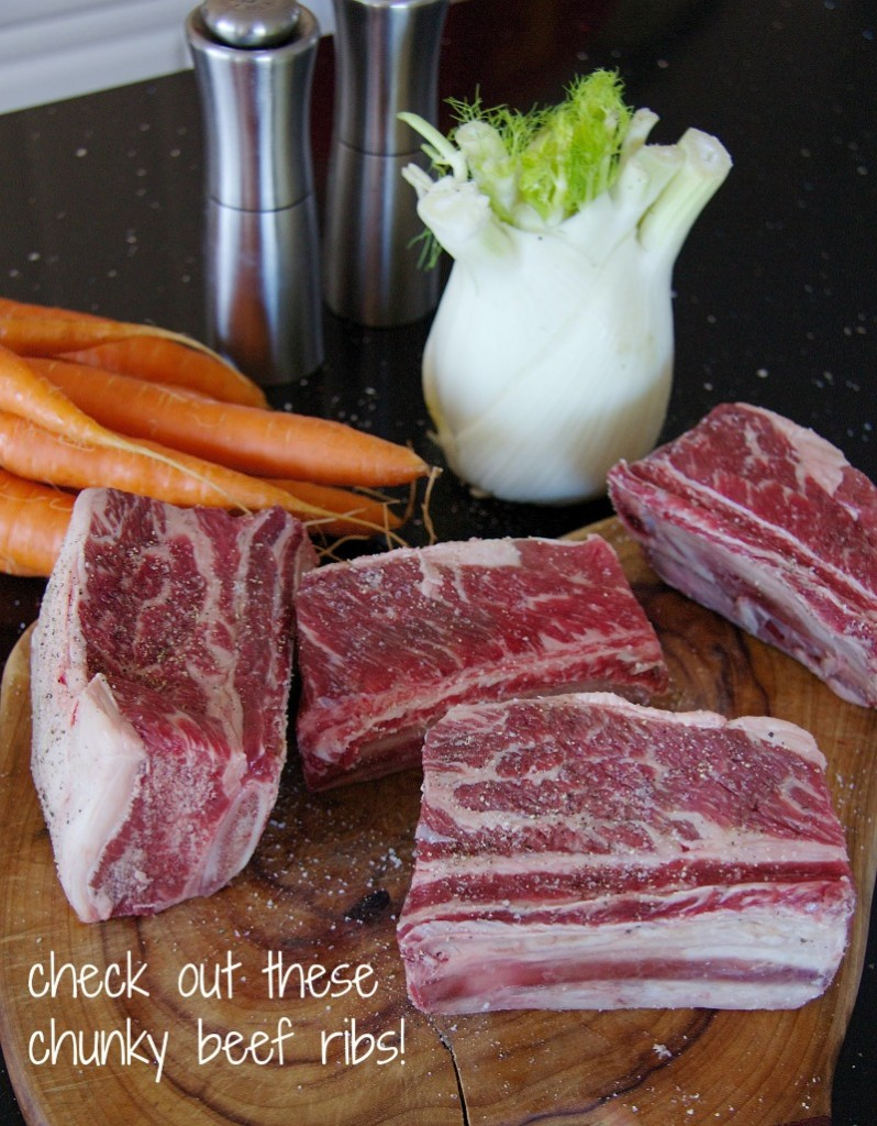 beef ribs by The Culinary Chase