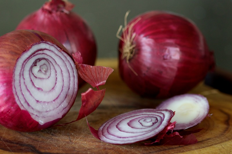 red onion by The Culinary Chase