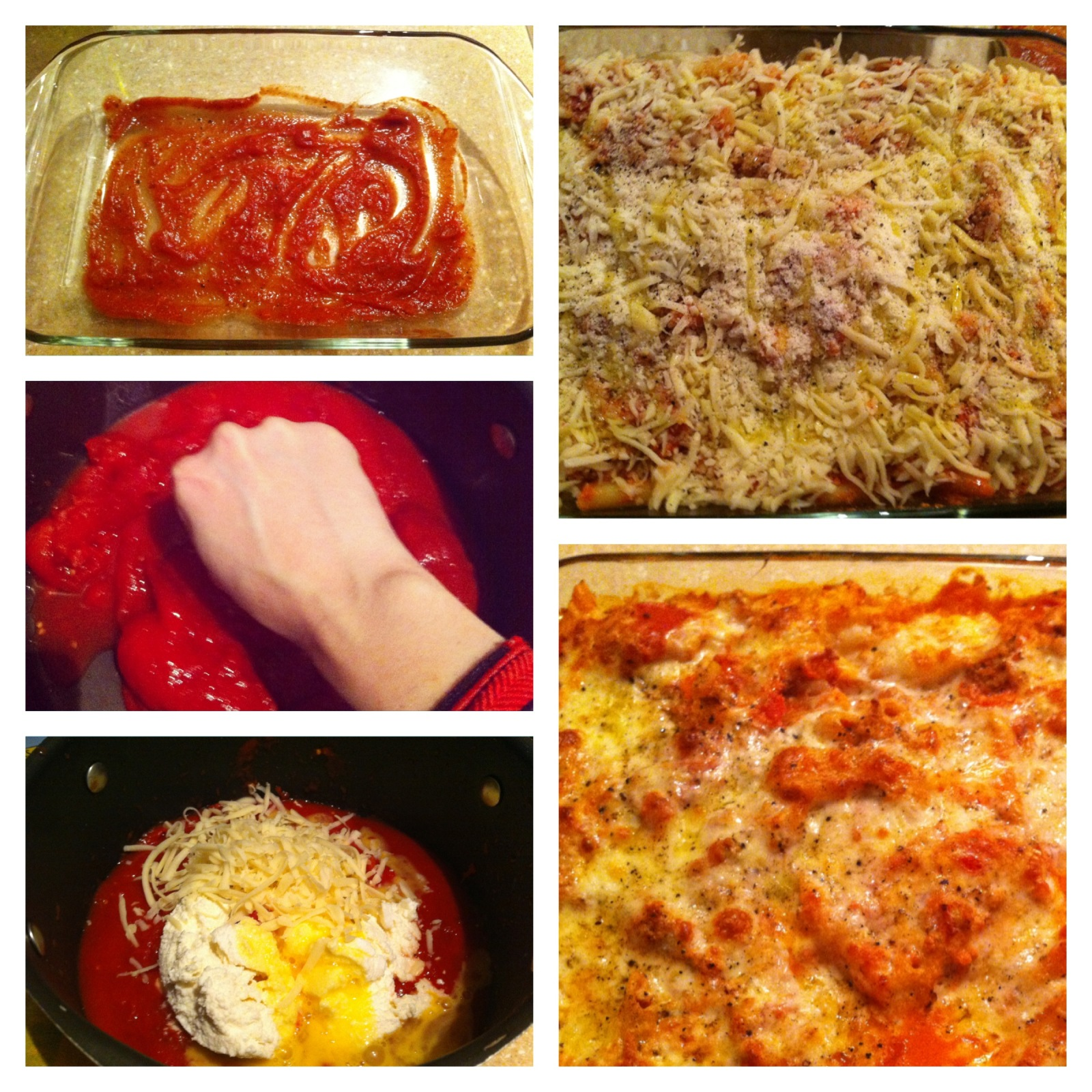 Baked Ziti, Baked Penne, Cheesey Casseroles