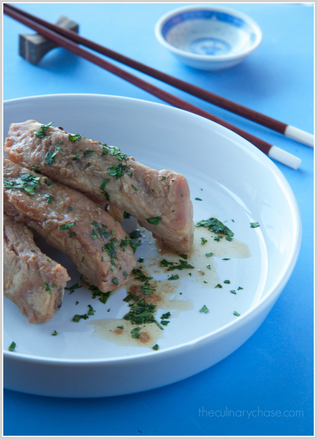 steamed pork ribs by The Culinary Chase