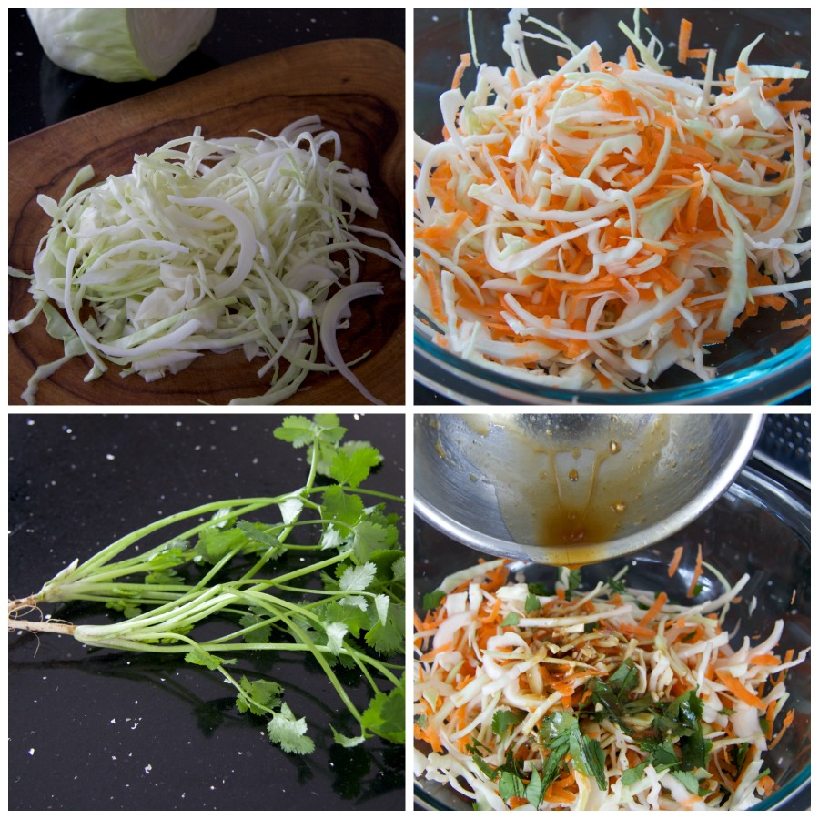 Coleslaw Collage by The Culinary Chase