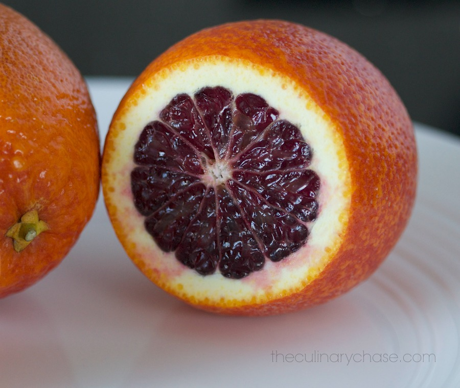 blood orange by The Culinary Chase
