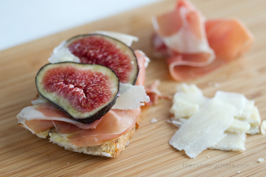 fig crostini 2 by The Culinary Chase