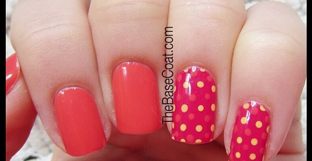 Quick Sunday NOTD! I was walking by @davidstea and was inspired by their summer collection colors. I don