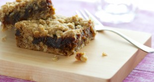 date squares by The Culinary Chase