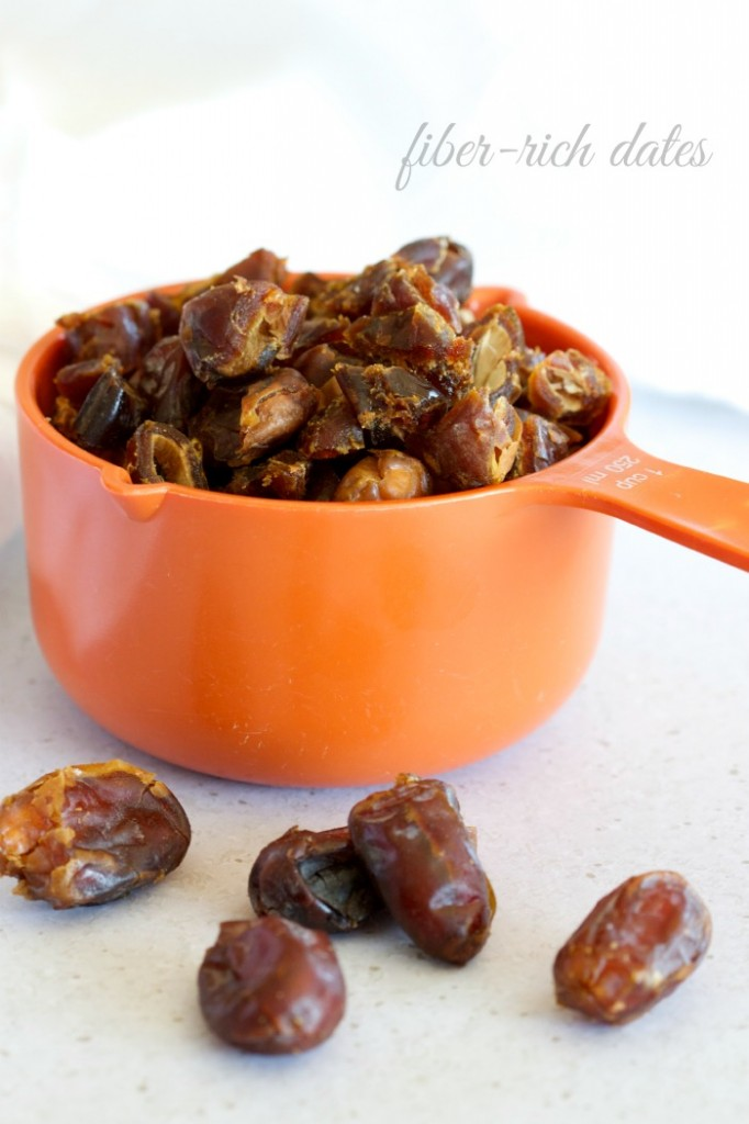 fiber rich dates by The Culinary Chase