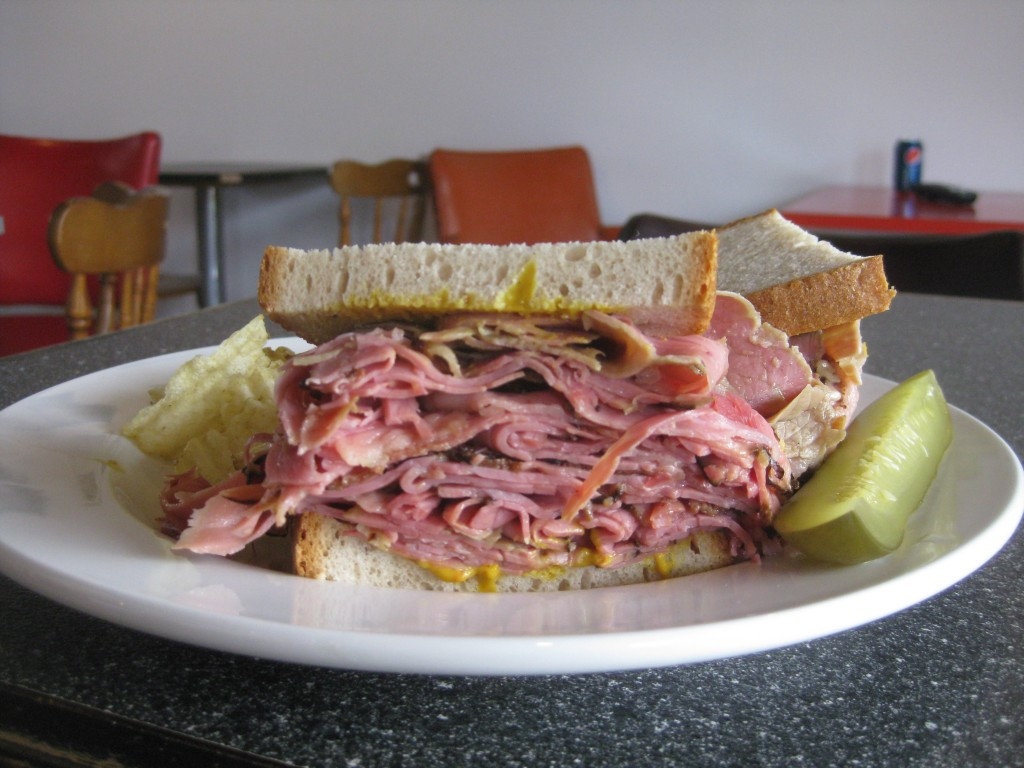 Smoked Meat Sandwich at Sully