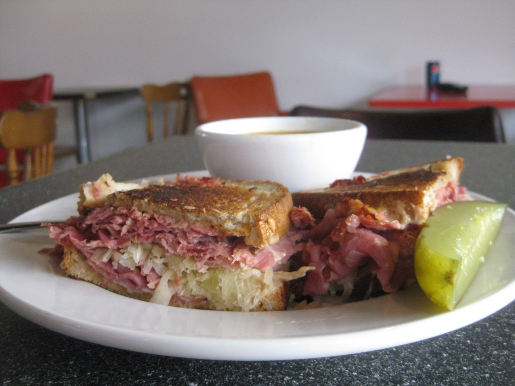 Rueben sandwich at Sully