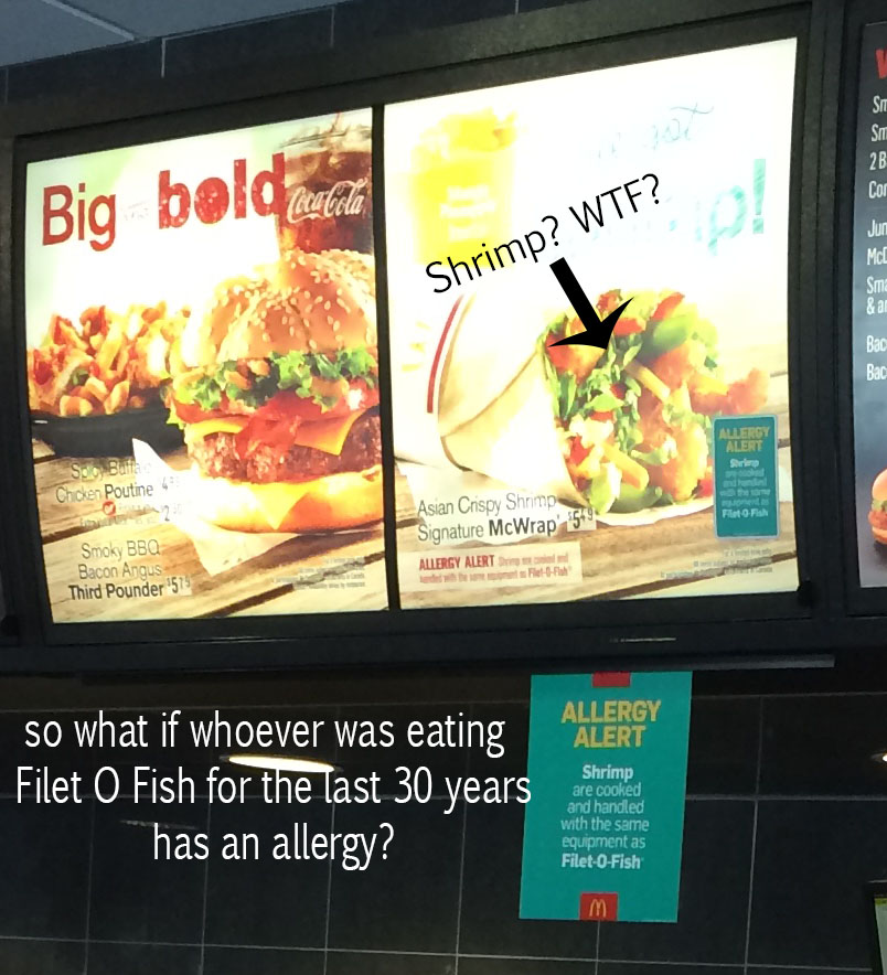 Seriously who has been ordering Filet o Fish? WHO?