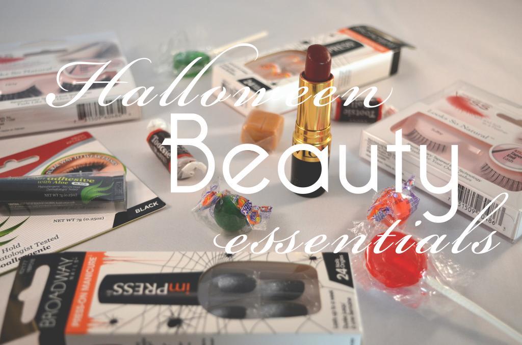 false lashes, lipstick, nails, primer, make up