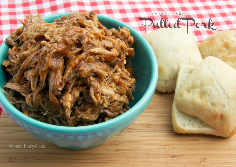 easy to make pulled pork