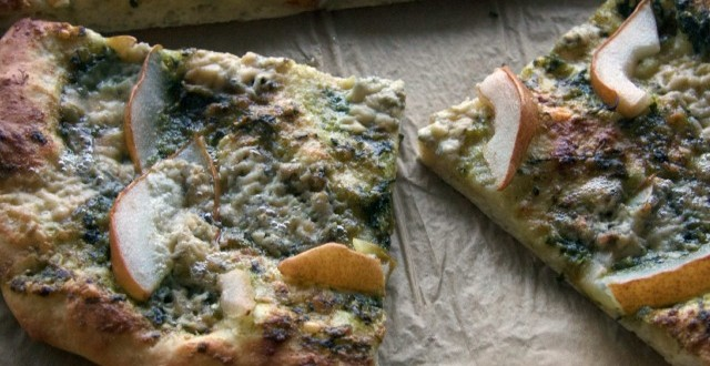 Pear & Blue Cheese Pizza