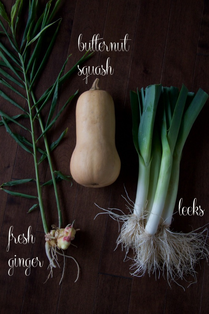 butternut squash soup ingredients