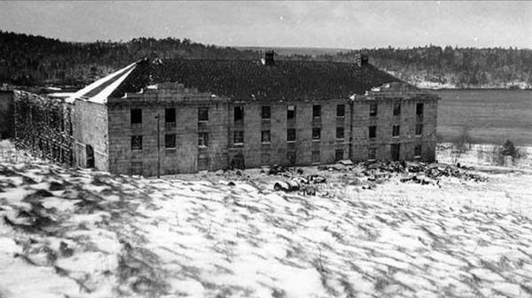 The Northwest Arm Penitentiary, right on the edge of Point Pleasant Park. (Photo: Nova Scotia Museum)