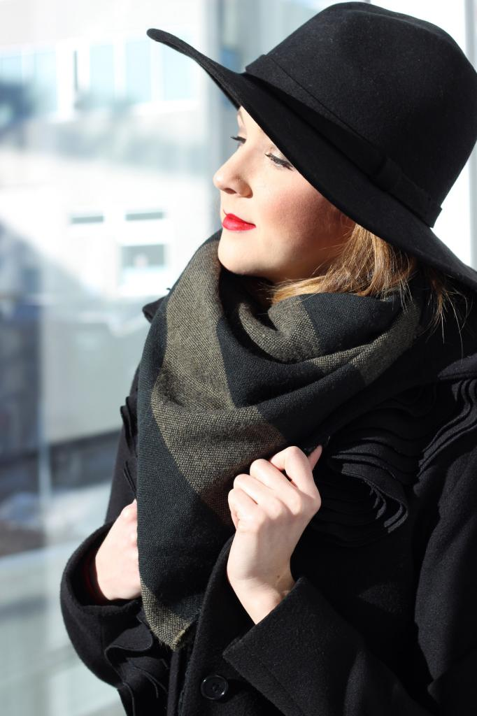 hats, how to wear hats, winter fashion, Canadian blogger