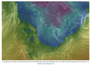 cold winter weather pattern