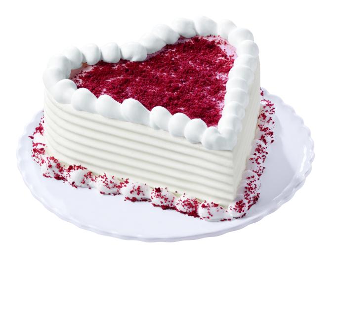 DQ Red Velvet Blizzard Cupid Cake | Mommy Miracles