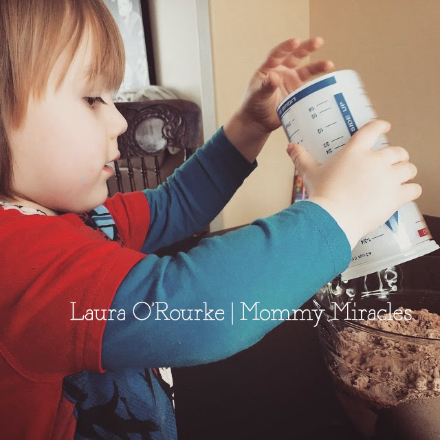 Baking a Cake with Toddler | Mommy Miracles