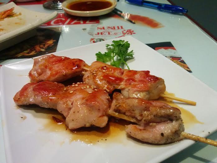 chicken skewer
