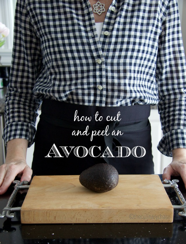 How To Cut & Peel an Avocado