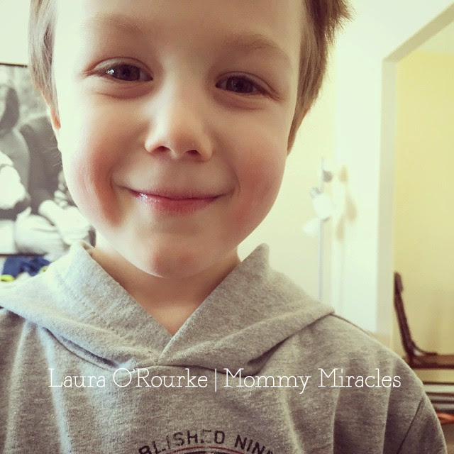Cameron Registered for Kindergarten  | Mommy Miracles