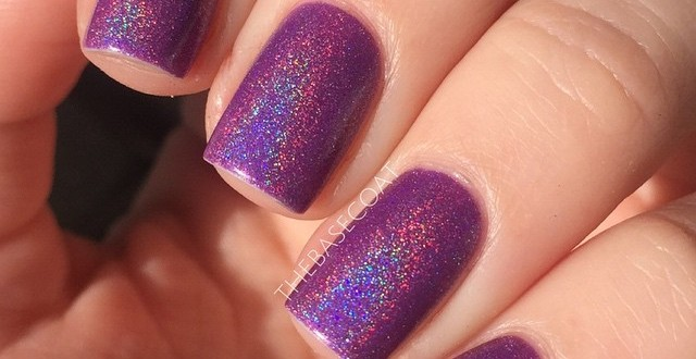 Today I am wearing @cirquecolors Xochitl ✨? such a pretty purple/pink holo. Perfect now that the sun is out! I bought this polish from @nailpolishcanadacom. Sorry that I