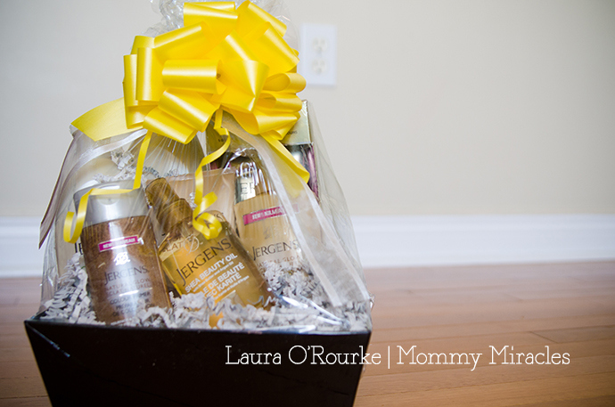 Jergens gift basket Giveaway | Mommy Miraces