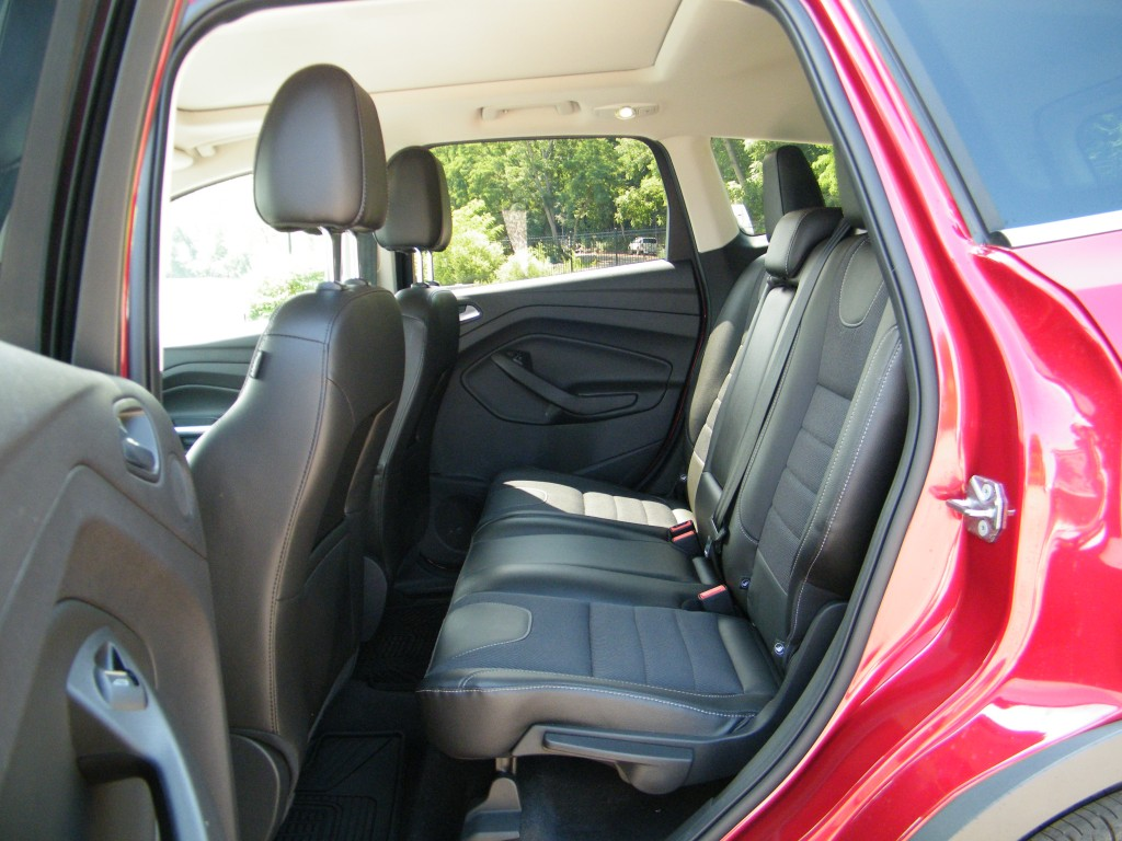 2015 Ford Escape-rear seat