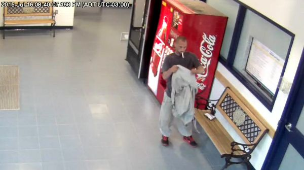 Suspect in Aed THEFT - 1