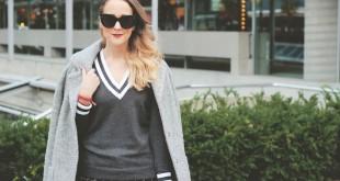 monochrome dressing, canadian style blogger, celine sungalsses