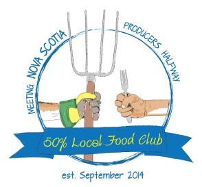 50% Local Food Club Logo