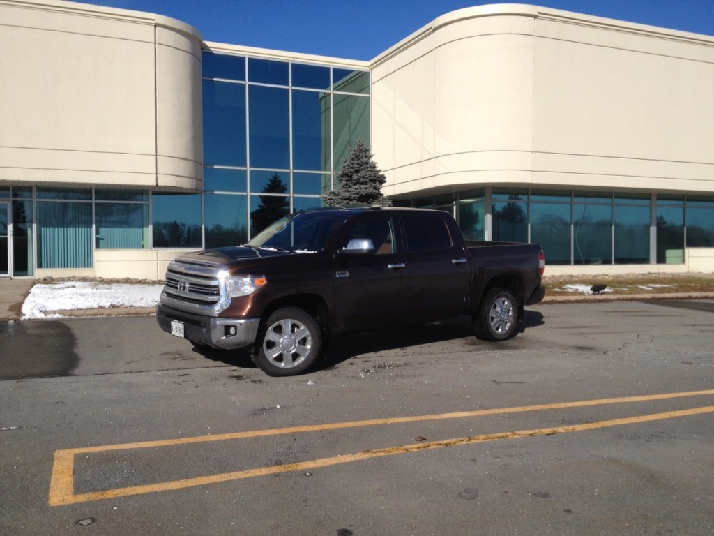 test drive 2016 toyota tundra crewmax platinum 4 4 1794 edition. Black Bedroom Furniture Sets. Home Design Ideas