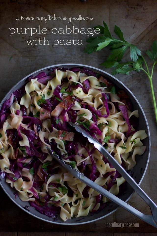 Saut 233 Ed Purple Cabbage With Pasta Haligonia Ca