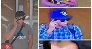 Superstore theft suspect collage