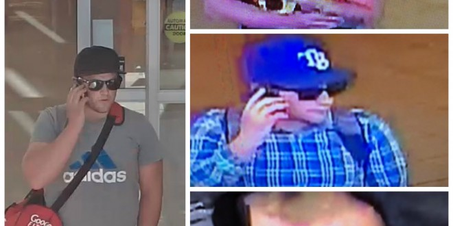 Superstore theft suspect collage