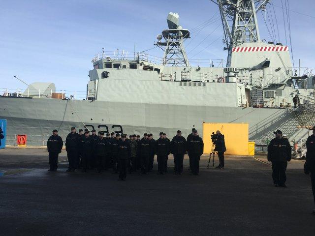 FELEX Finished – HMCS Toronto Handed back to RCN