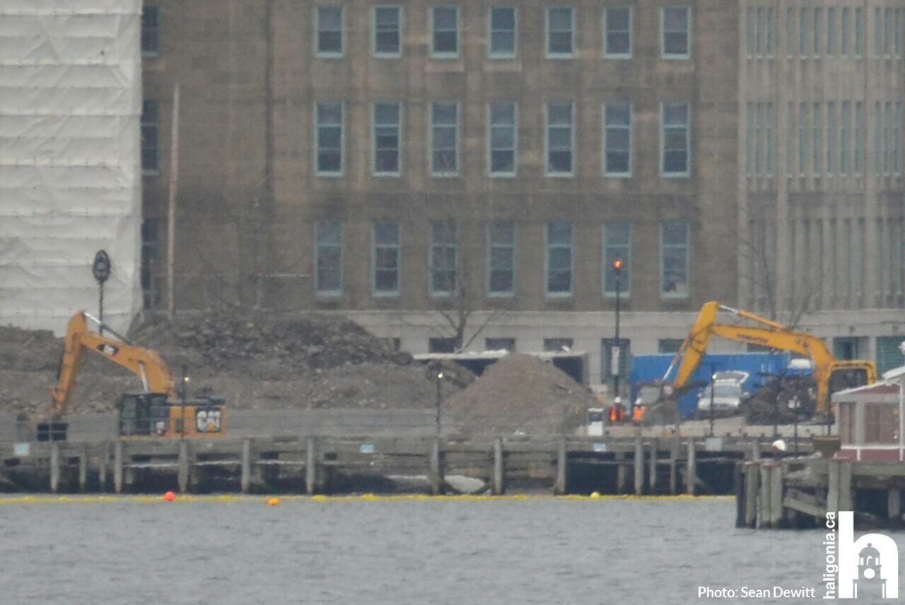 queens marque district underway on halifax waterfront
