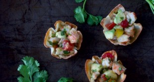avocado-shrimp-wonton-baskets