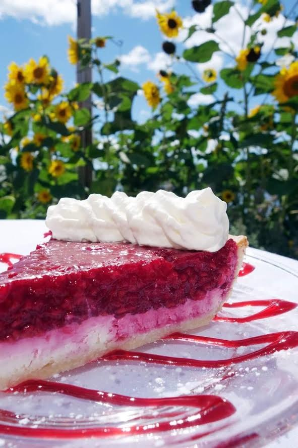 Island Kitchen raspberry pie