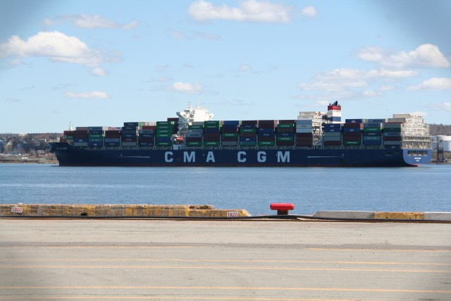 CMA-CGM Loire – Tied for Biggest