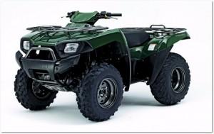 ATV Forest Green Kawasaki