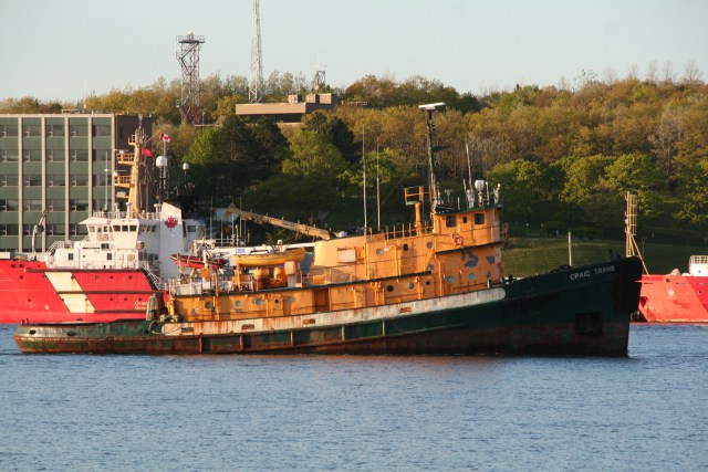 Craig Trans Finally Leaves Halifax.
